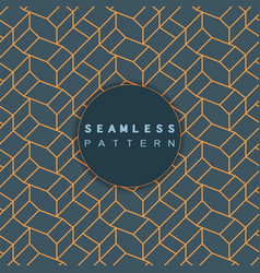 outline geometric pattern seamless retro style vector image