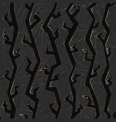 Raven seamless pattern vector