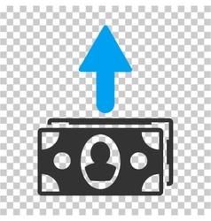 Spend Banknotes Icon vector