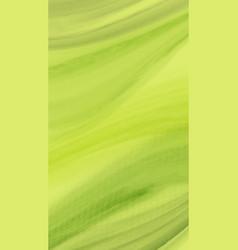 Watercolor green wave background creative vector
