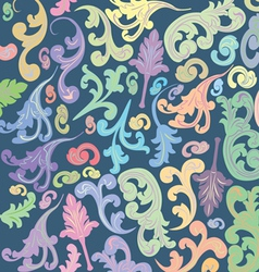 multi colored background vector image vector image