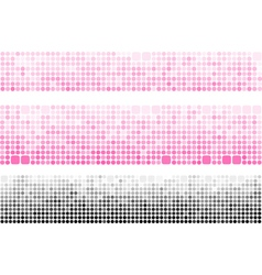 Gradient banner made with circle and square vector