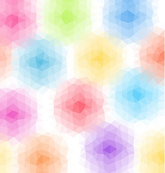 Abstract triangular background Pastel colored low vector