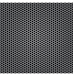 chrome texture grill vector image