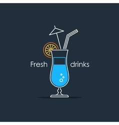 Coctail 12 vector