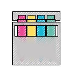 Combine color palette vector