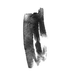 Grunge ink pen stroke vector