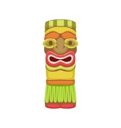 Indian totem hawaiian vacation classic symbol vector
