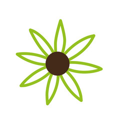 Mandala flower design vector