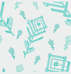new pattern 0245 vector image