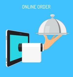 online order concept vector image