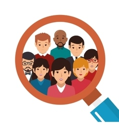 People group avatar character vector