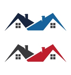 Real Estate property Logo Template vector image