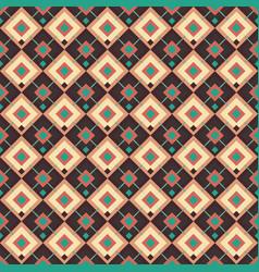 Retro mosaic seamless pattern vector