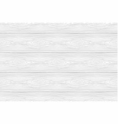 Seamless pattern of white wooden boards vector