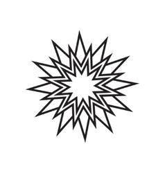Star simple icon vector image vector image