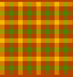 tartan seamless pattern background autumn color vector image