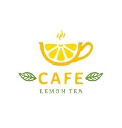 Cafe logo vector image vector image