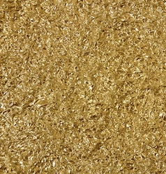 Golden foil background template for cards vector