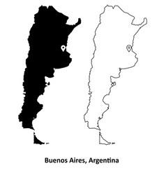 1014 buenos aires argentina vector