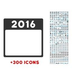 2016 Year Icon vector