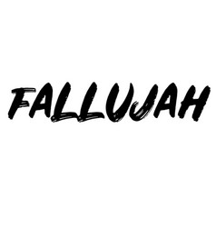 Fallujah stamp typ vector