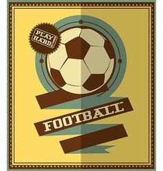 Football icon design vector