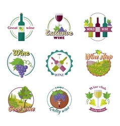 Great Exclusive World Wine vector