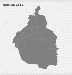 High quality map city vector