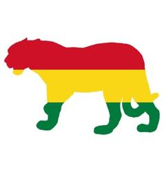 Jaguar Bolivia vector