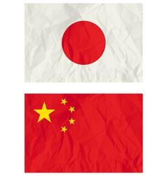 Japanese and China banners vector image