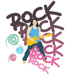 Rock vector image