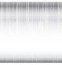 Polished metal chrome grey and shine background vector image