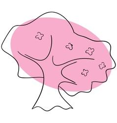 Sakura vector image