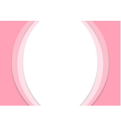 pink paper curve stack abstract background vector image vector image