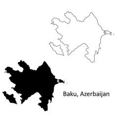 1018 baku azerbaijan vector
