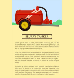 agricultural machinery icon cartoon banner vector image