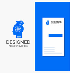Business logo for capability head human knowledge vector