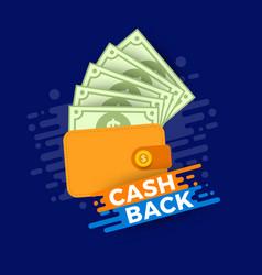 Cash concept vector