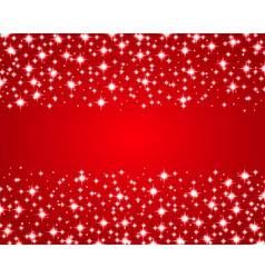 Christmas red shiny background vector