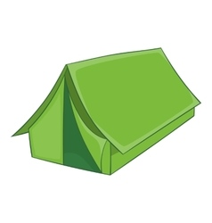 Tent icon cartoon style vector image