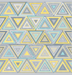Triangle abstract seamless pattern vector