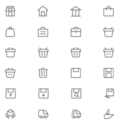 User interface icons 1 vector
