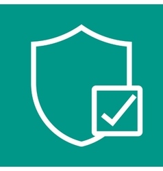 Verified Protection vector image