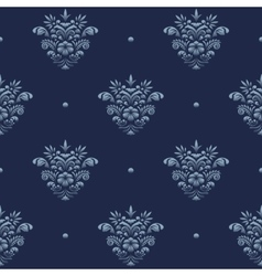 Vintage damask luxury pattern vector