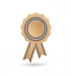 Award ribbon vector