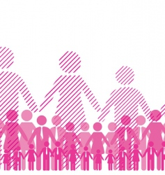 friendship team vector image vector image