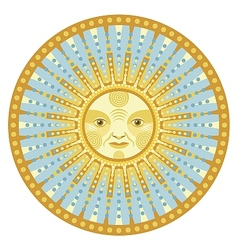 Daylight Mandala vector image vector image