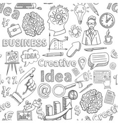 business and character cartoon design vector image