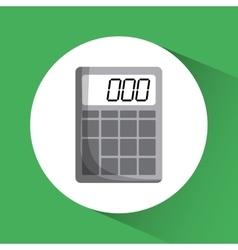 Calculator icon Education concept Flat vector